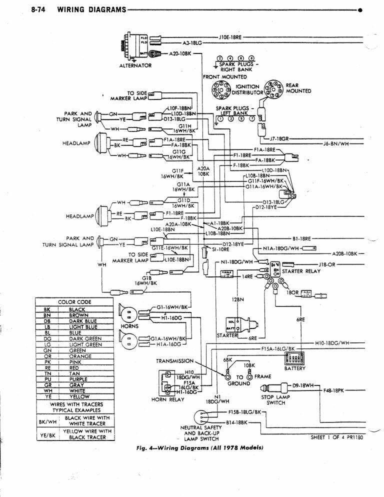 dave\u0027s place 78 dodge class a chassis wiring diagram Safari Motorhome Wiring Diagram