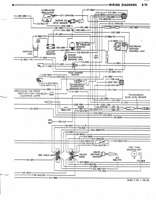 dave's place - 78 dodge class a chassis wiring diagram 1946 dodge wiring diagram #1