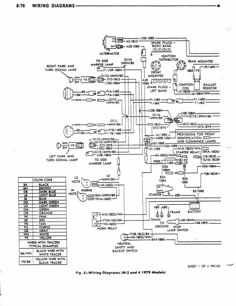 1978 Dodge Sportsman Motorhome Wiring Diagram - captain source of