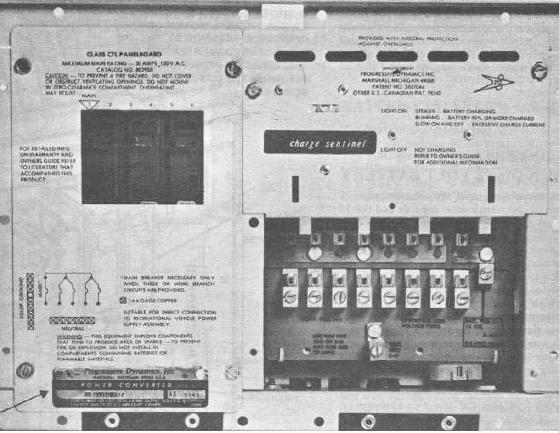 dave s place rv electrical systems rh dave78chieftain com 1974 Winnebago Brave Motorhome 1973 winnebago brave service manual